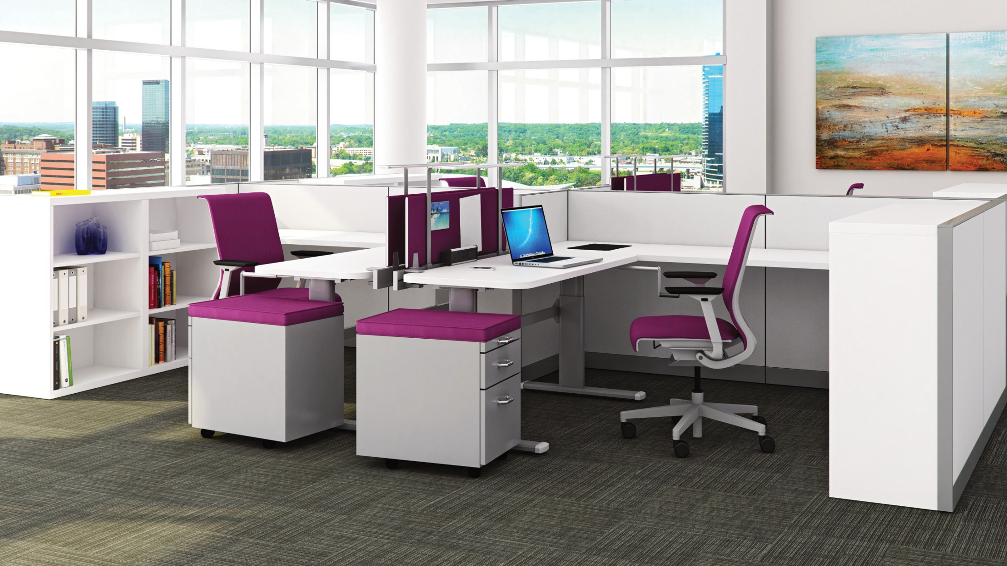 Multi Functional Office Workstations