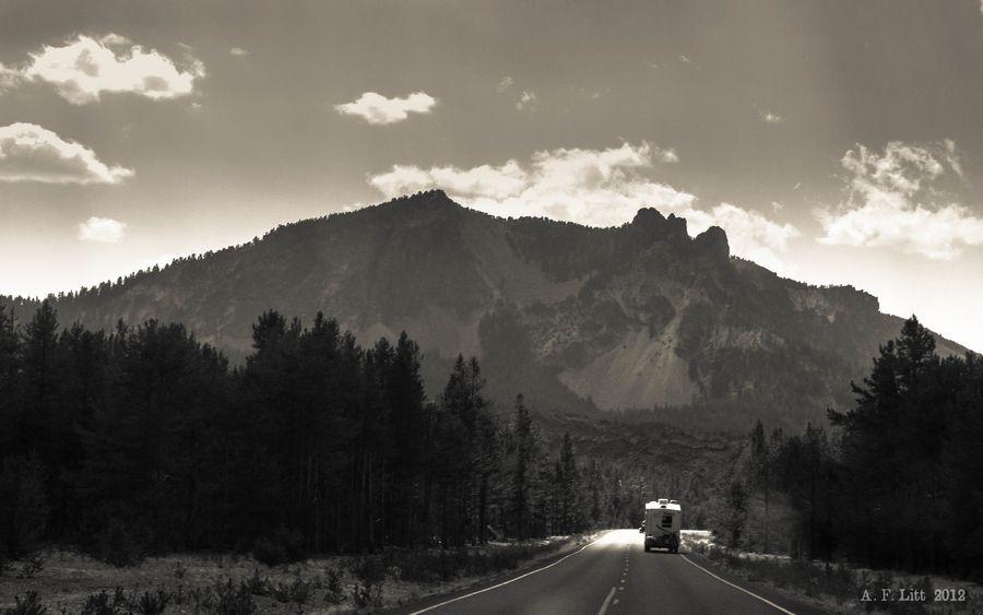 Paulina Peak & Camper by A. F. Litt, via 500px