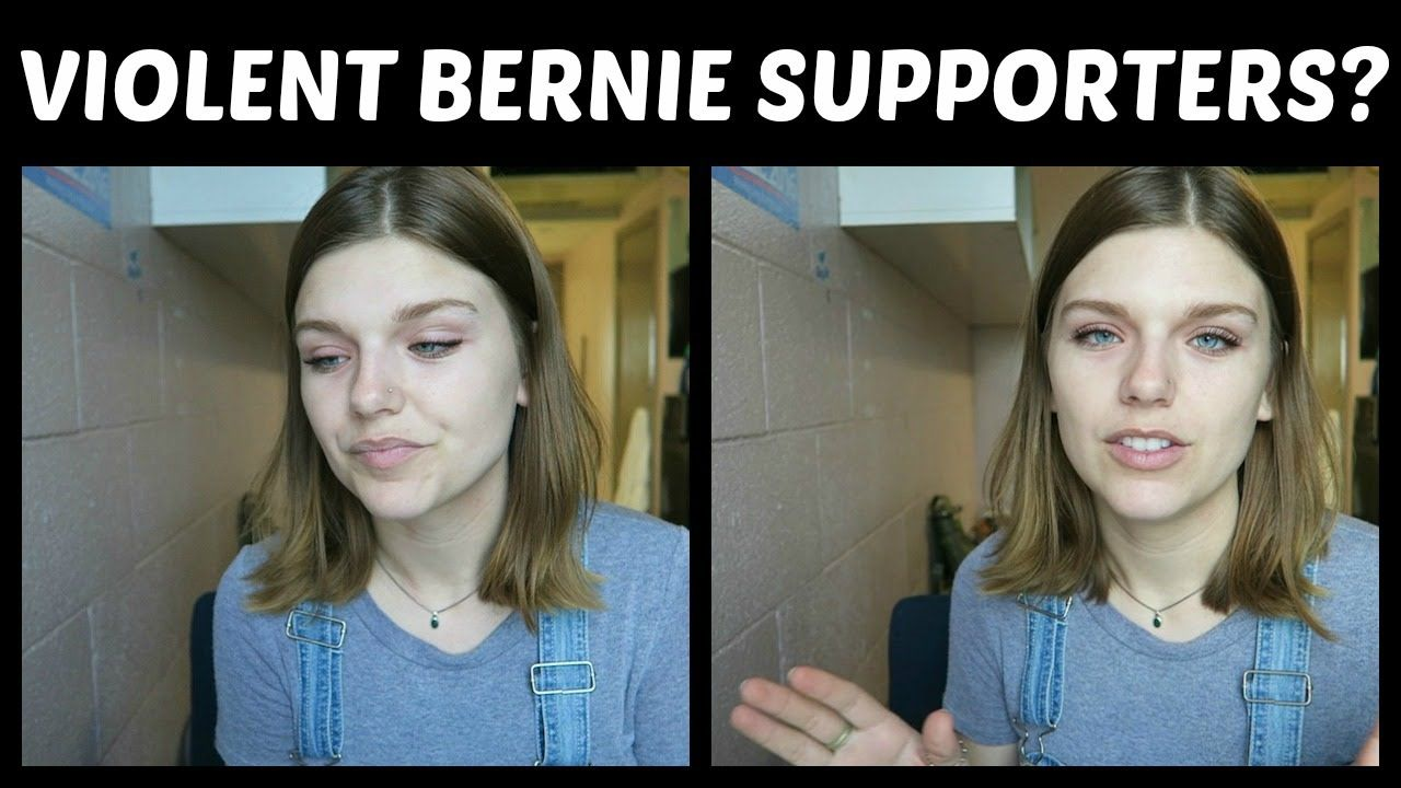 MSM Says Bernie Supporters are Violent and Threatening