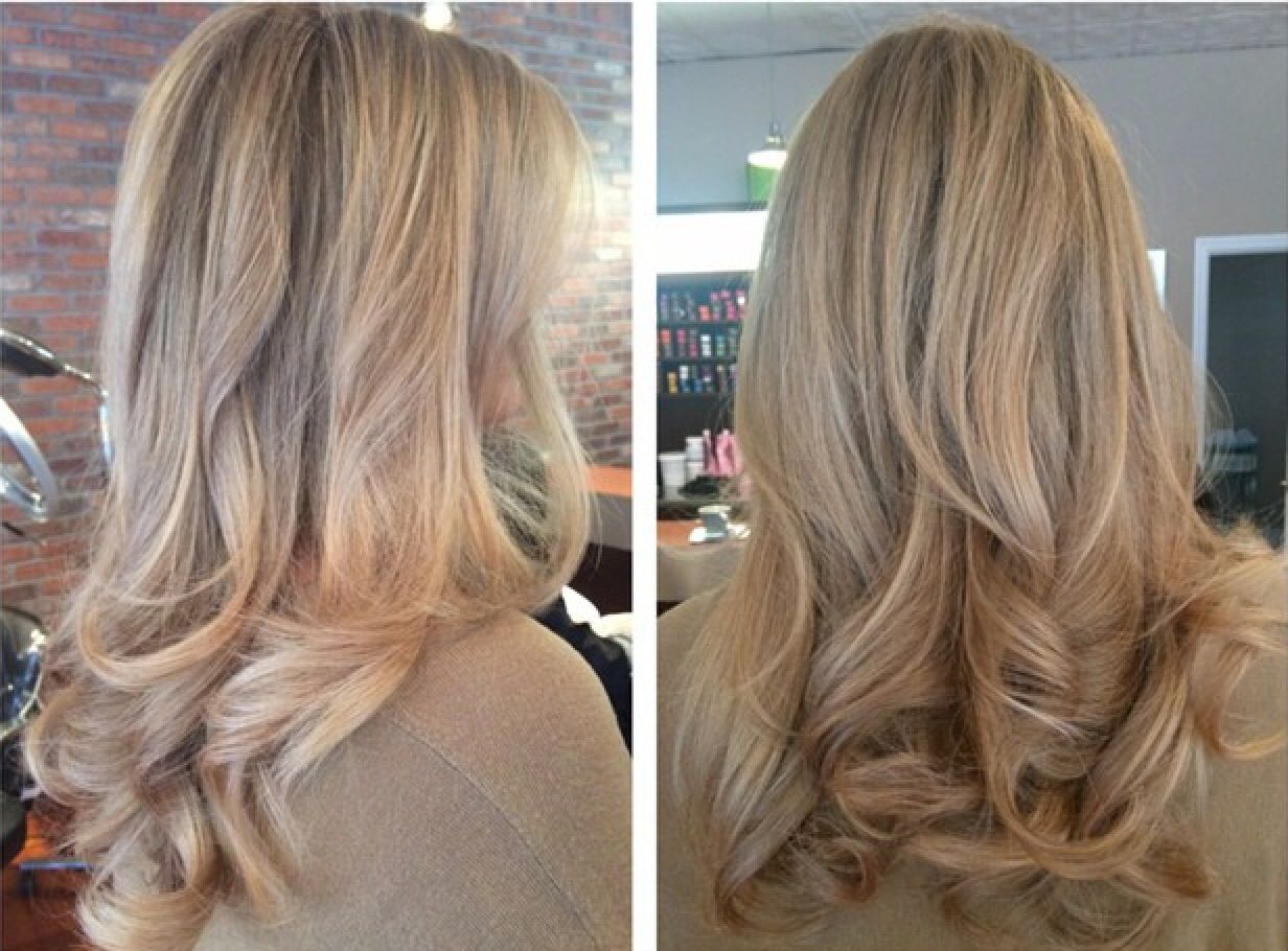 Beautiful Highlights And Blowout Done At The Beauty Box In Rye New
