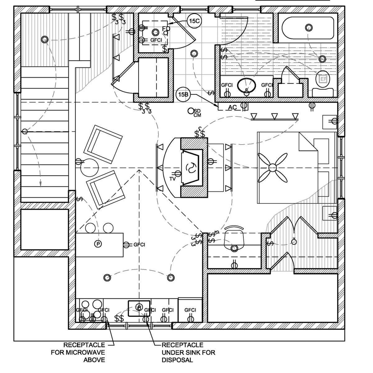 1357 Church Street Slab Creative Living Designs Llc Floor Plans Architectural House Plans How To Plan