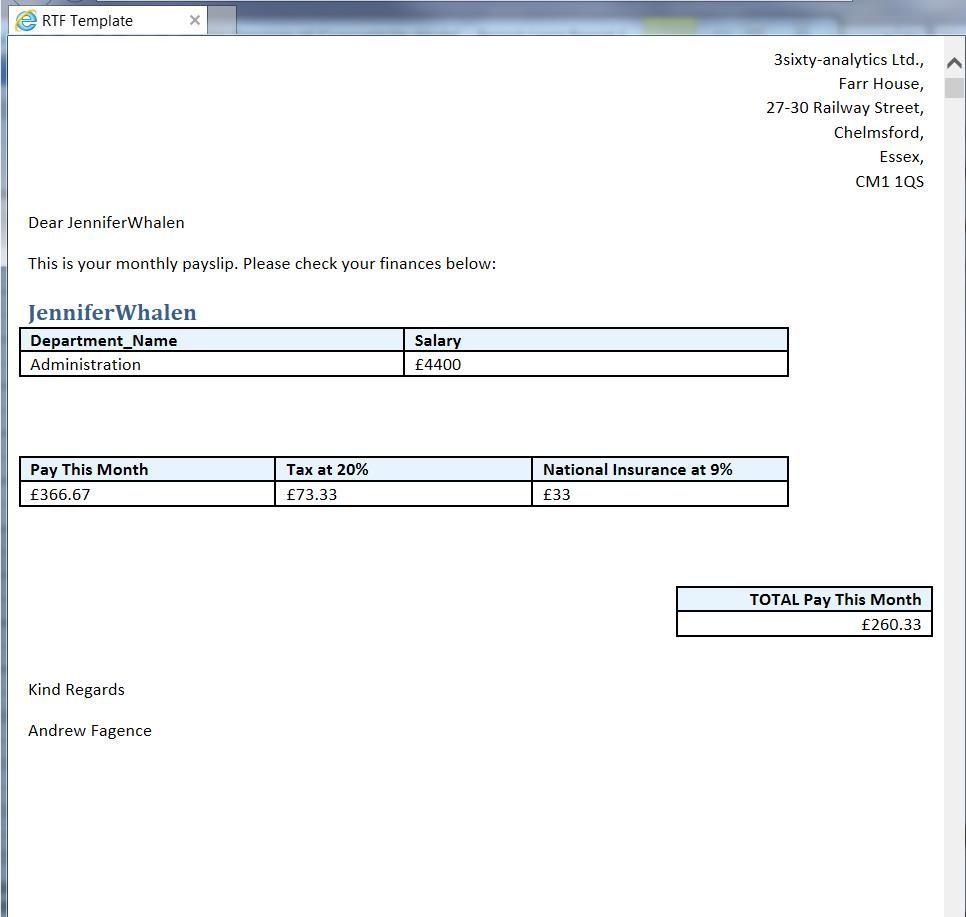 Australia template payslip sample templates resume