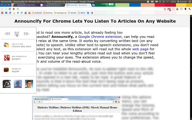 Chrome Web Store - Announcify Help all students access the