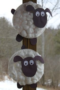 Paper plate sheep - appropriate for wide age range. Easy enough for toddlers but appealing enough for elementary age. & Jesus Parables - Good Shepherd (Yrs N-2). Paper plate sheep ...