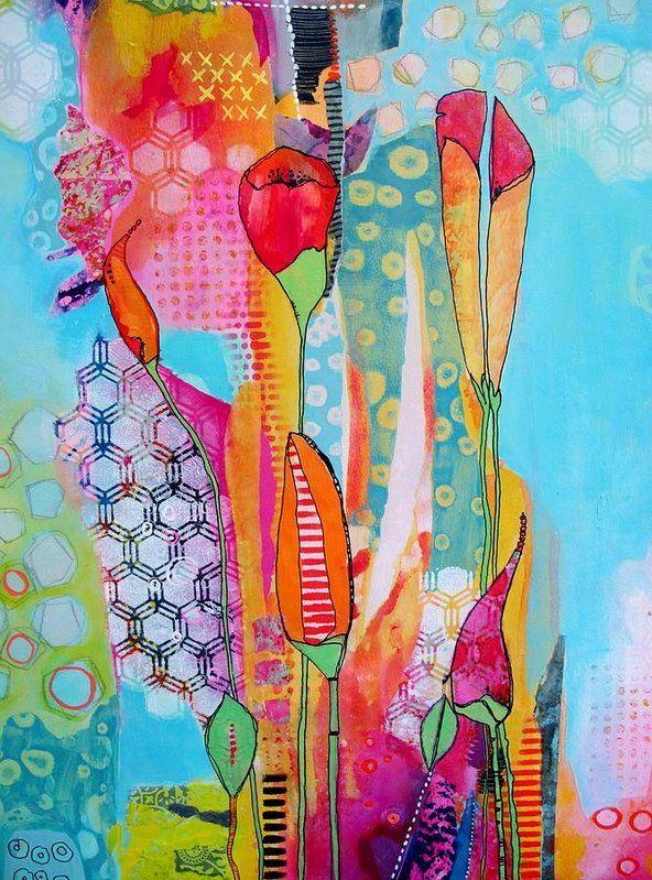 Full Bloom Art Print by Chris Cozen