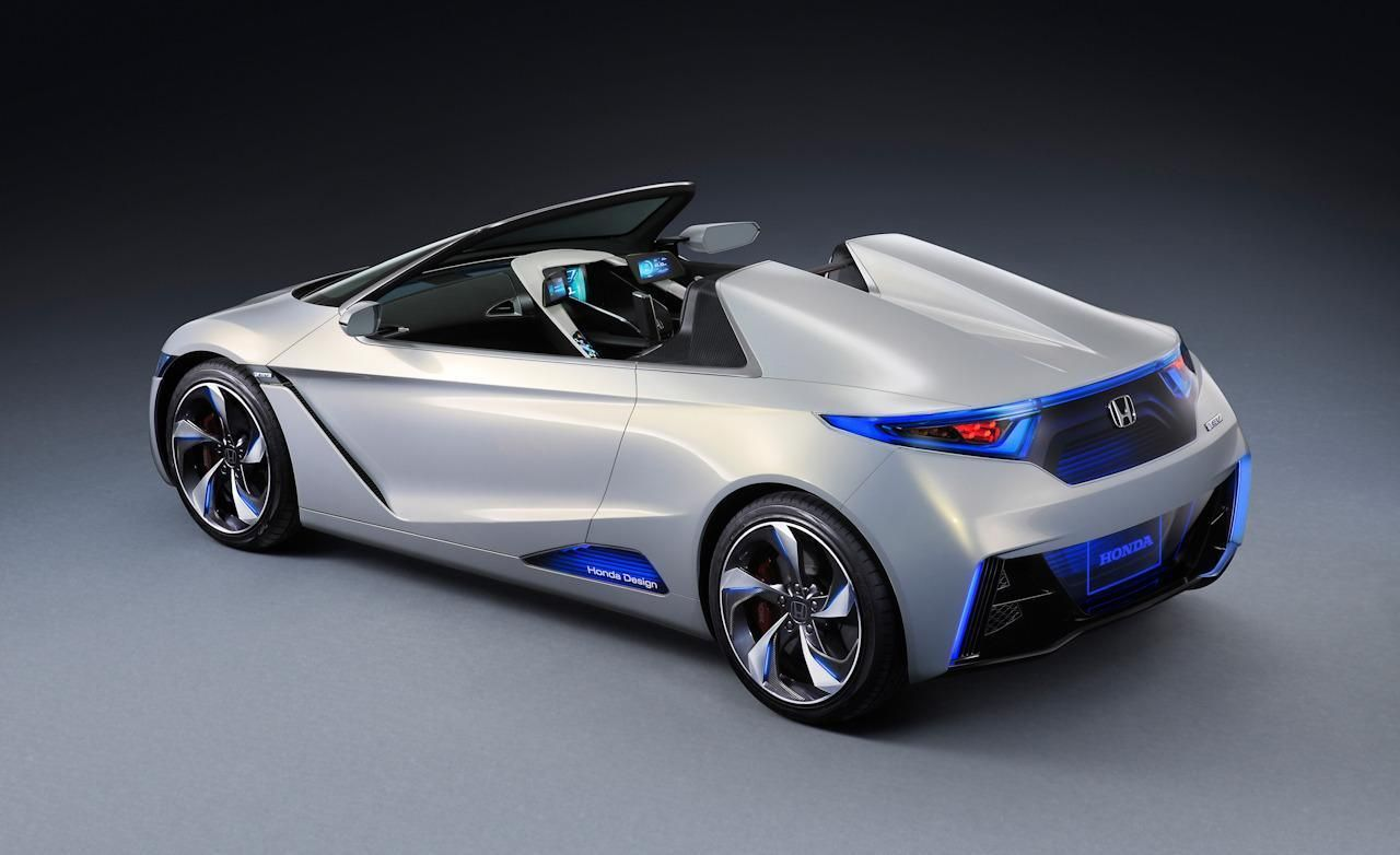 Amazing Incroyable Honda EV STER Concept For The Future Of Electric Sports Cars