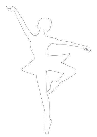 Bastelvorlage Ballerina Kostenlos Basteln Schneeflocken Geschenke Verpacken Geburtstag Kinder
