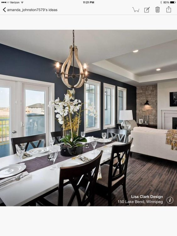 cool dark blue accent wall living room | Navy hale Benjamin Moore | Blue accent walls, Navy accent ...