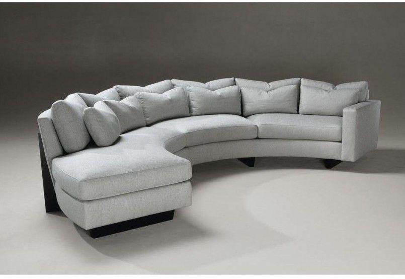 Erfreulich Curved Sectional Sofa Wohnzimmer Ideen Fur Einen