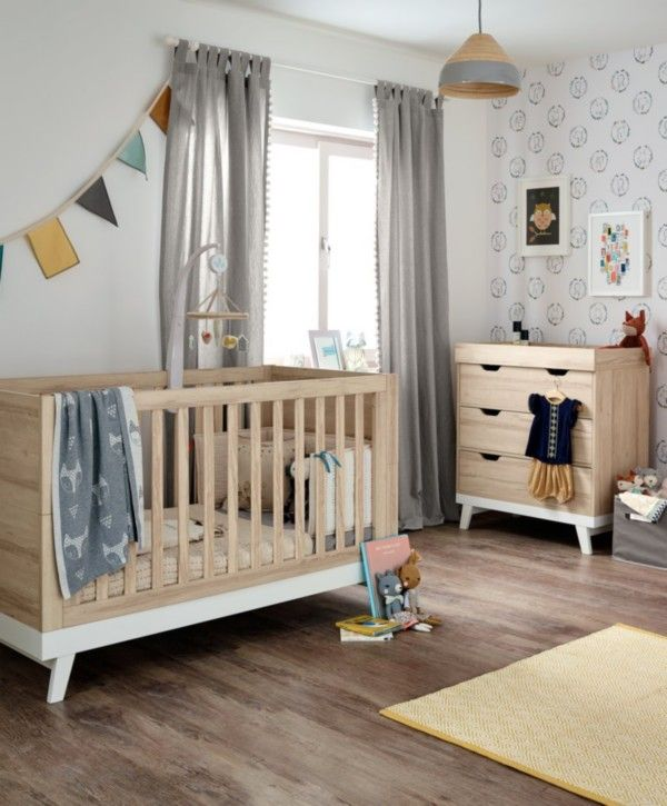 Lawson Nursery Furniture Set With Cotbed Dresser Natural White