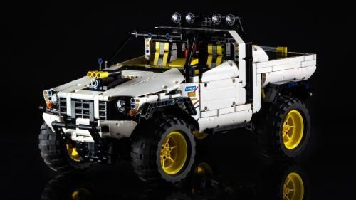 LEGO Set MOC-2412 Custom Pick-Up 4X4 - building instructions and ...