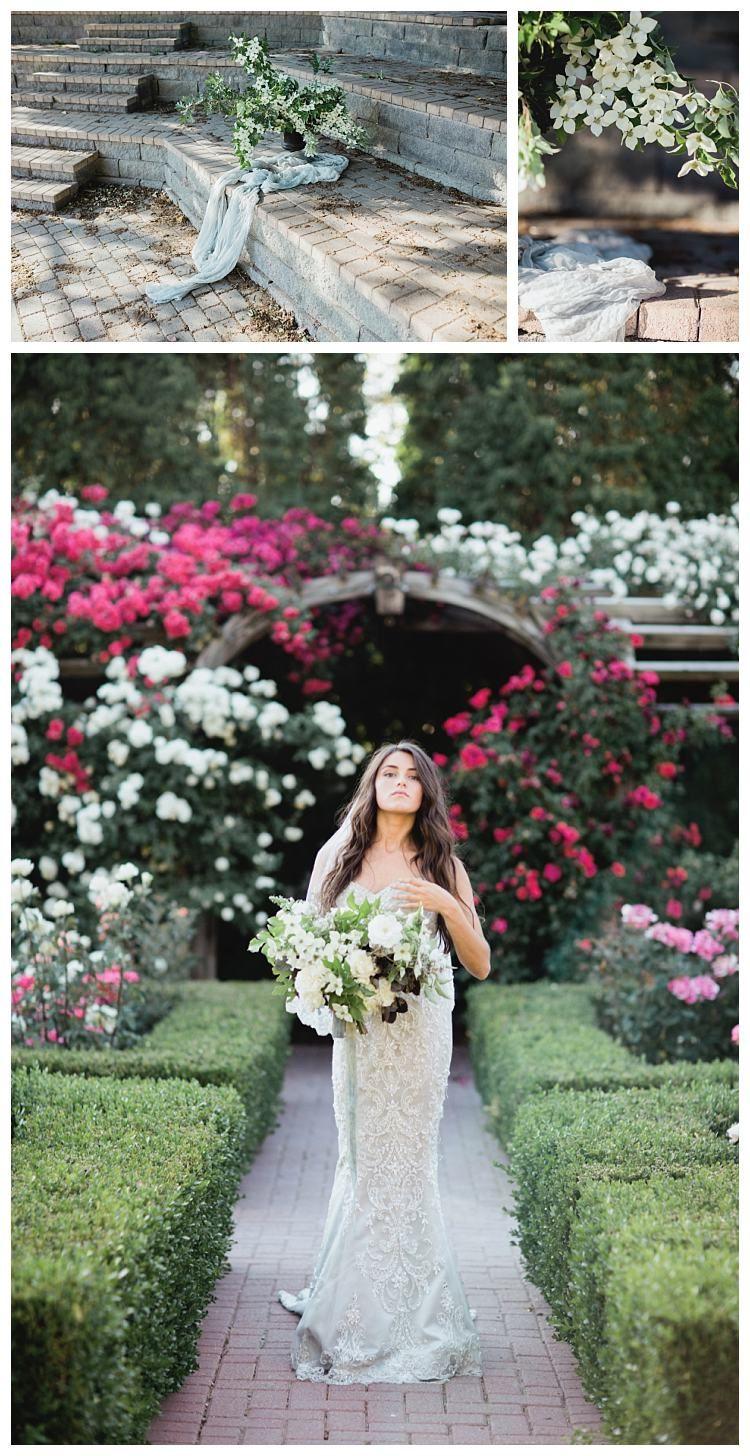 The dress garden utah - Thanksgiving Point Wedding Inspiration In The Rose Garden Gateway Bridal Prom Salt Lake