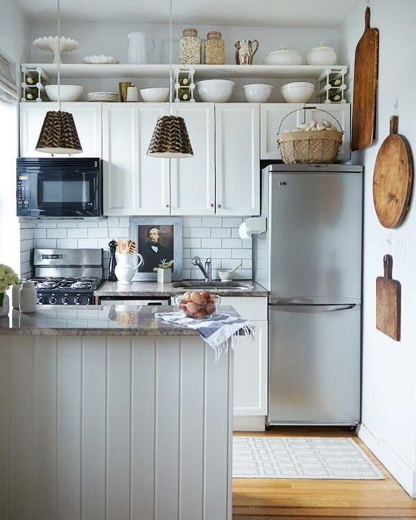 Decoración De Interiores 2019 60 Imágenes Ideas Y Consejos: Cocinas Pequeñas Modernas 2018 + De 150 Fotos E Ideas