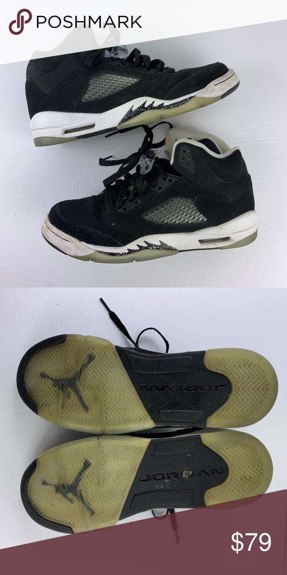 new concept 5d743 c10f0 Nike Youth Boys Size 6.5 Youth Air Jordan V 5 Nike Youth ...