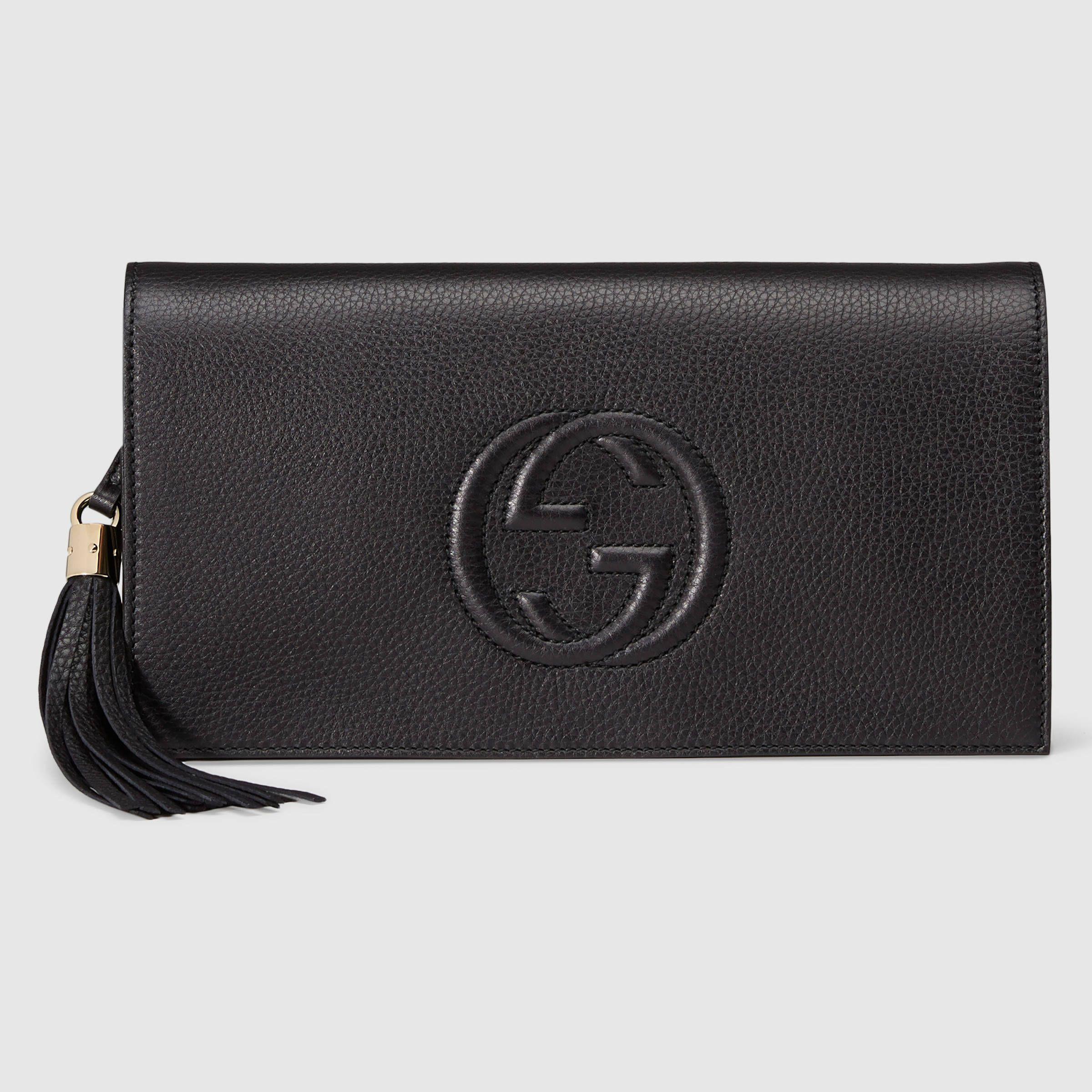 Gucci Women - Soho leather clutch - 336753A7M0G1000