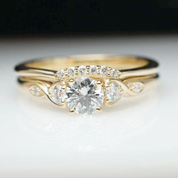 Vintage Engagement Ring Denver Old Fashioned Engagement Ring Gold