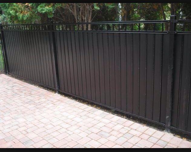 Iron Wrought Fence Wrought Iron Fences Backyard Fences Iron Fence
