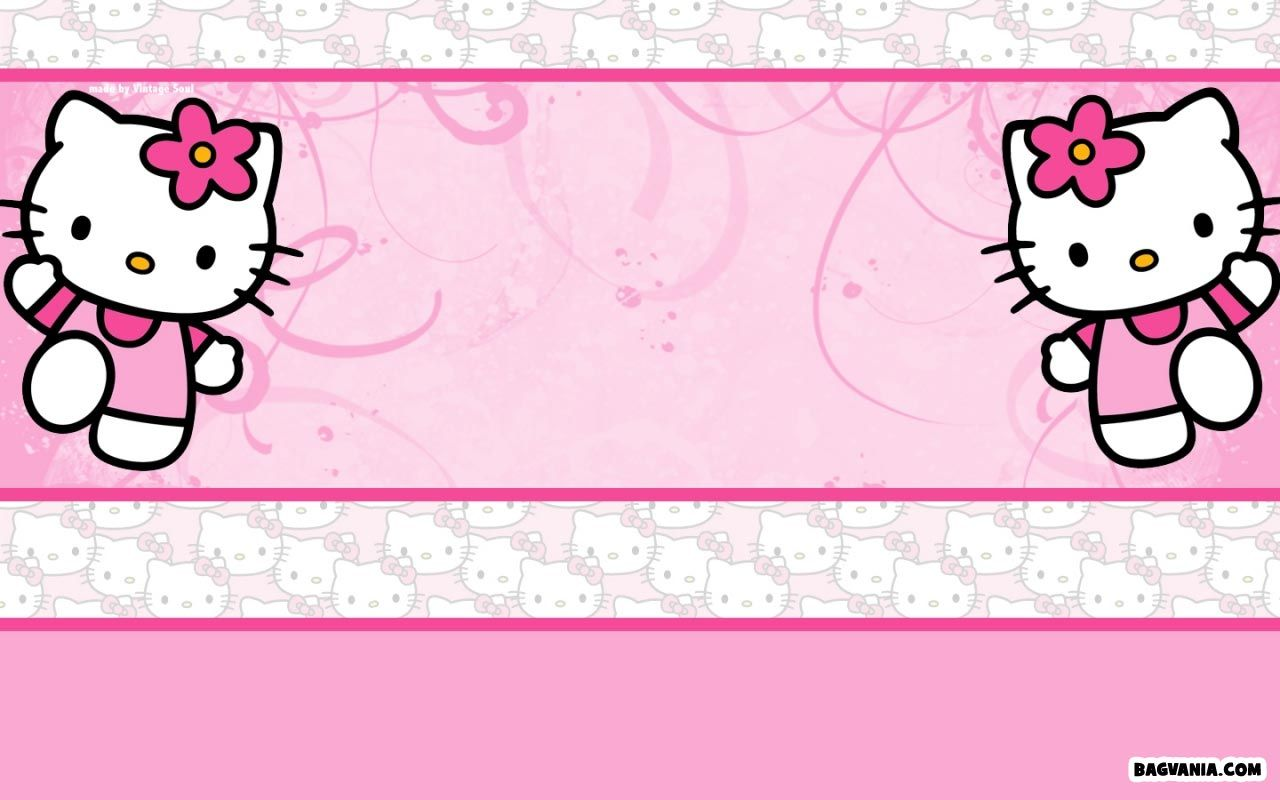 Awesome Free Printable Hello Kitty Birthday Invitations