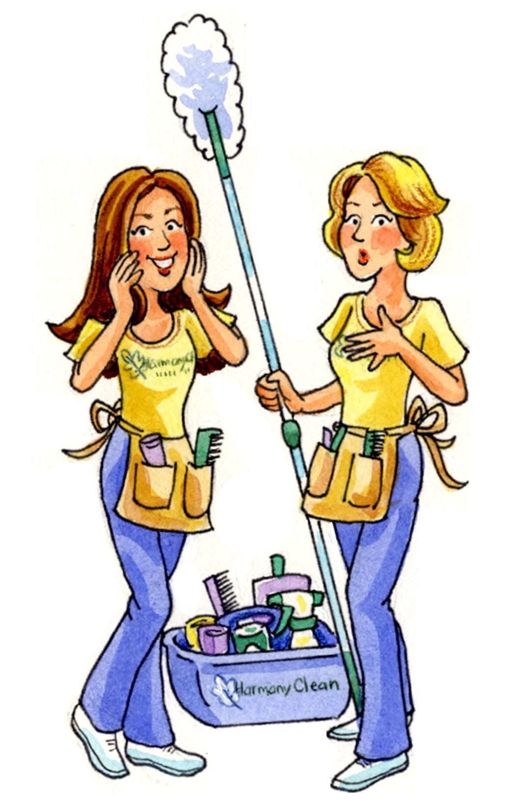 Image Result For Cartoon Image Cleaning Lady Cleaning Lady Two Ladies Cartoon Images