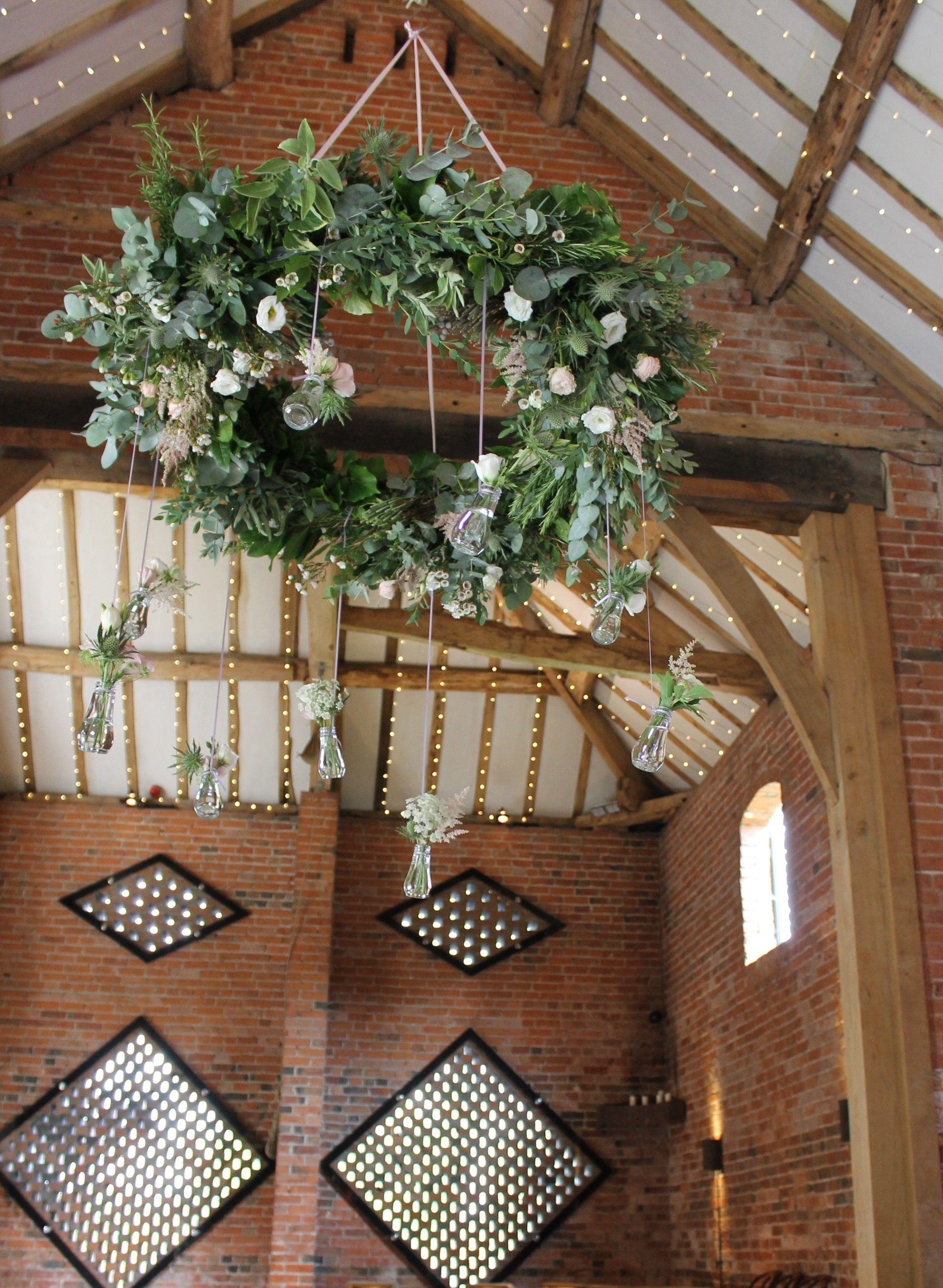 Eucalyptus Hoop Wreath