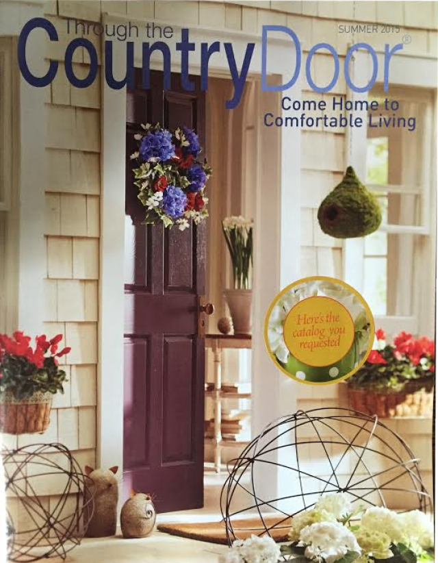 request a free through the country door catalog with all sorts of home decor somewhere in between country and contemporary - Christmas Decor Catalogs Free