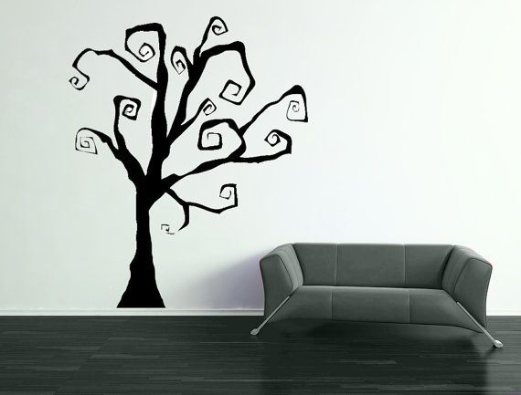 i love it that etsy has soooo many tree wall decals halloween