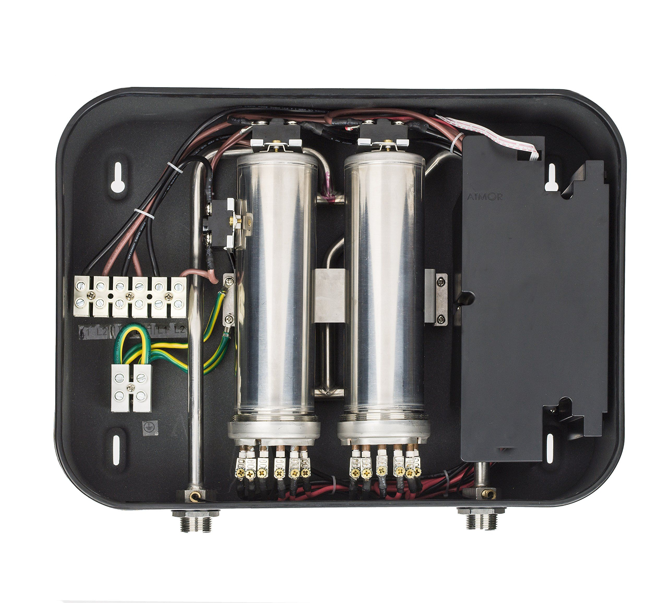27kw 240v Electric Tankless Water Heater 5 1gpm 112 3 Amps Thermopro Series With Digital Thermostat Tankless Water Heater Instant Water Heater Hot Water Heater