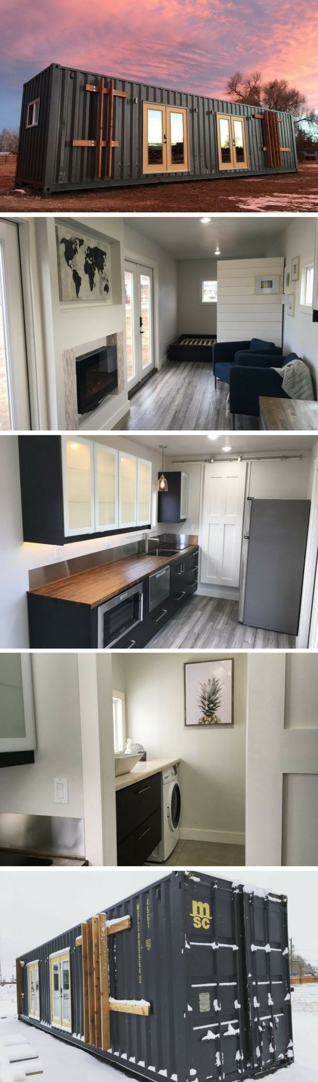 Best Kitchen Gallery: The Intellectual Tiny Container Home Tiny But Spacious Home of Shipping Containers Home Design  on rachelxblog.com