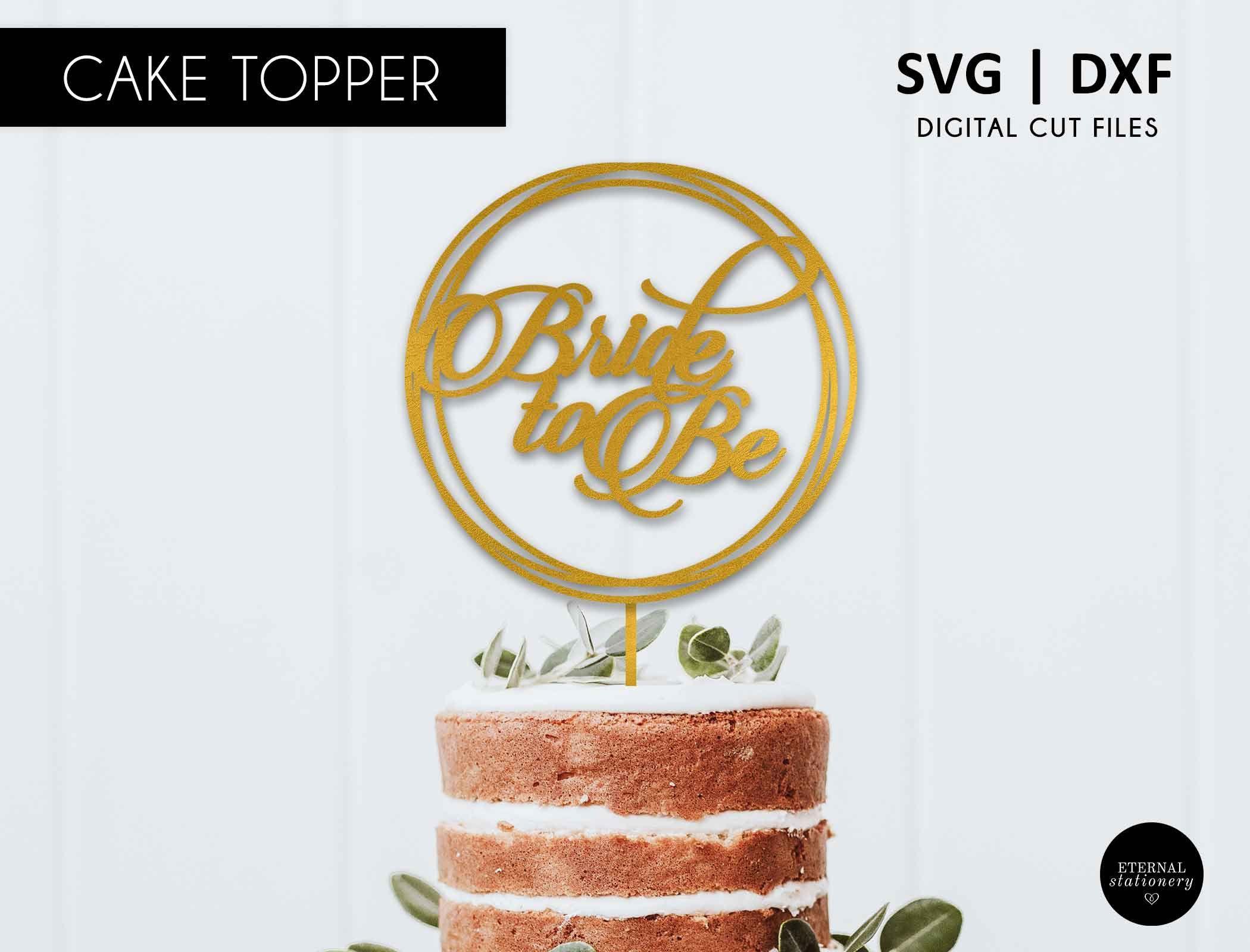 15++ Bridal shower cake topper svg ideas