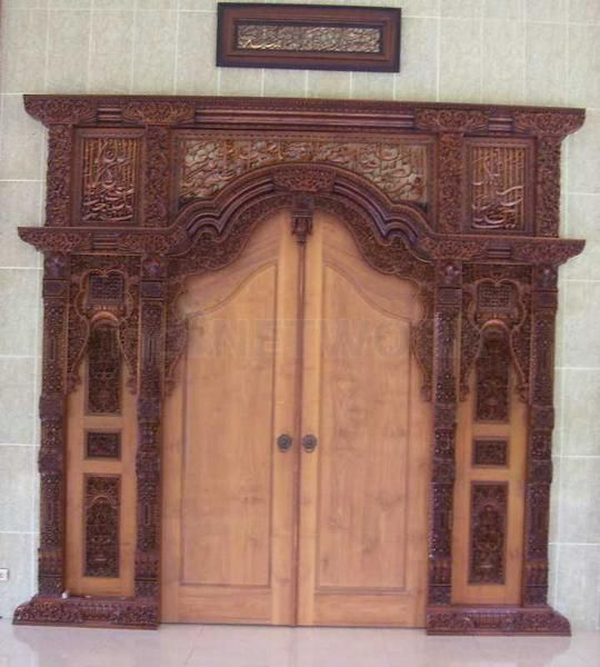 Gebyok Pintu Gapura Sultan Demak. • Max Havelaar Furniture • Indonetwork.co.id