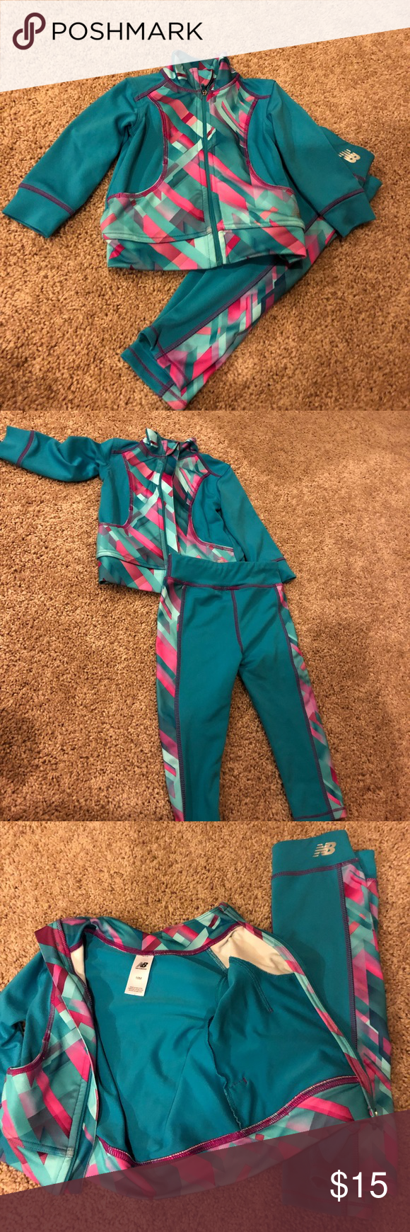 Toddler sweat suit New balance toddler sweat suit! Super