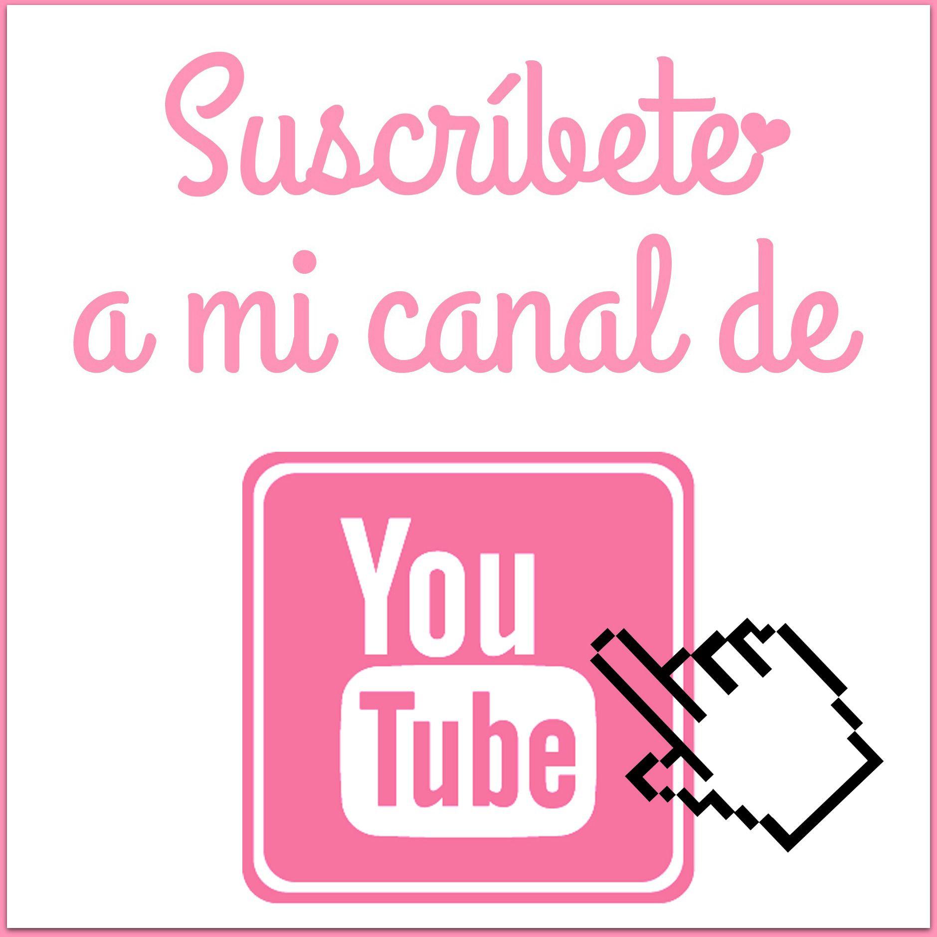 Suscríbete a mi Canal de Youtube! Cupones para novio