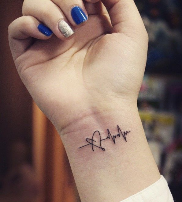 160+ Emotional Lifeline Tattoo That Will Speak Directly To Your Soul ...