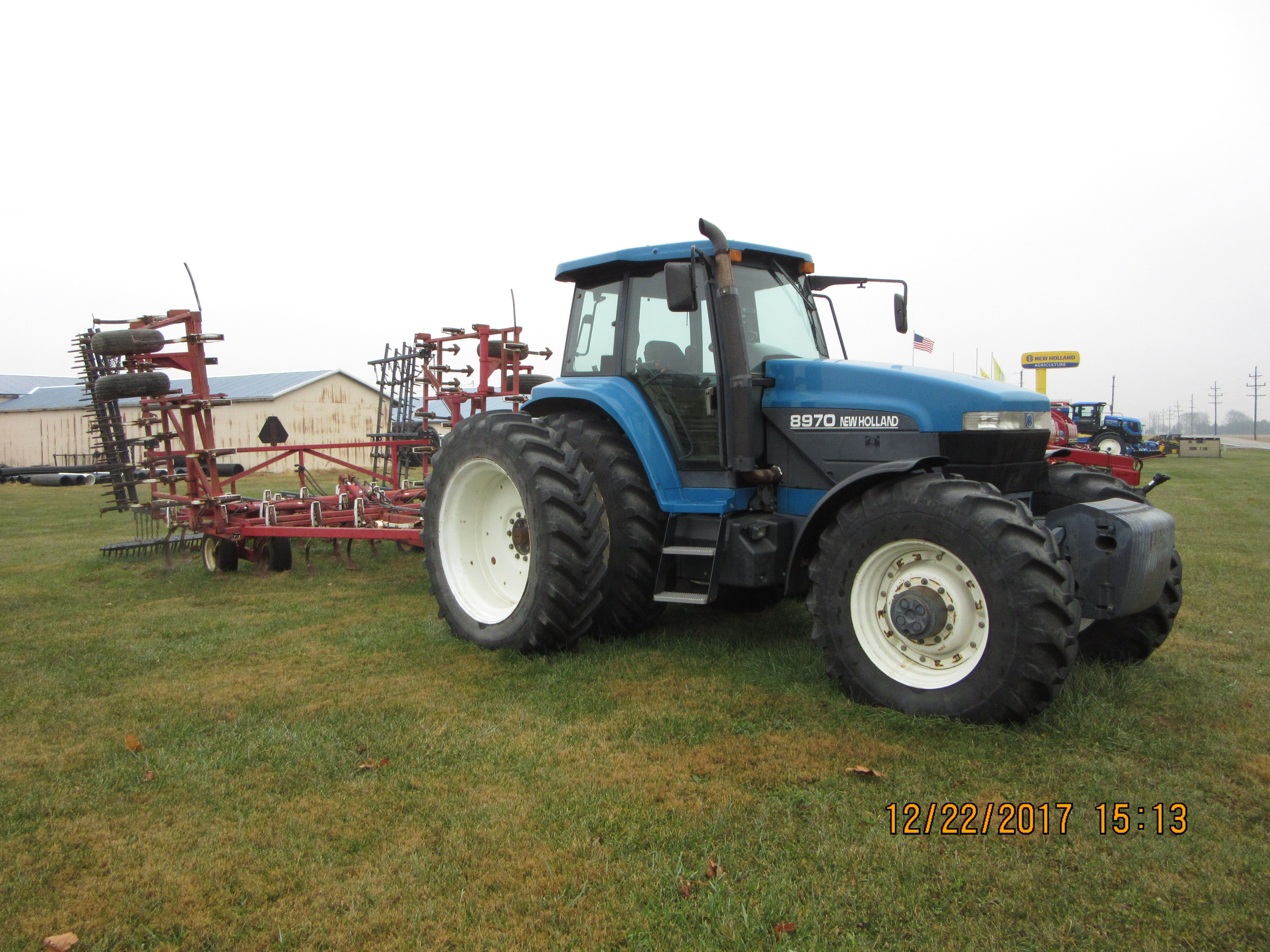 210hp New Holland 8970 Wil Rich 2500 New Holland Holland