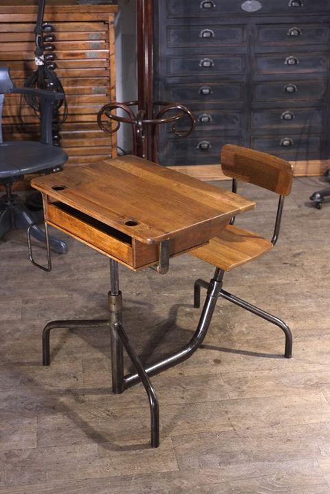 Bureau Ancien En Chene Plus D Info Sur Https Ift Tt 1npq8am Deco Design Antiquitesdesign Loft Usine En 2020 Meuble De Metier Decoration Maison Mobilier Design