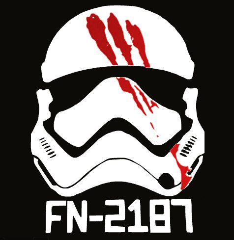 Star Wars Stormtrooper FN 2187 Finn Car Decal By RamblinRoseSews