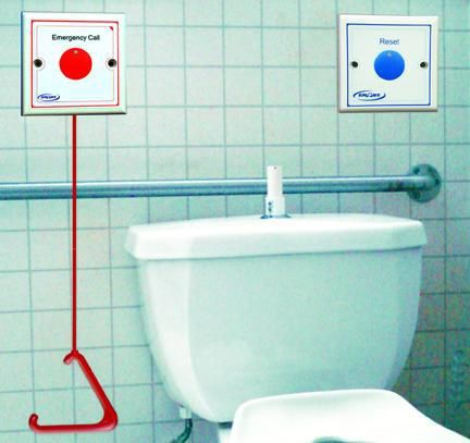 Handicap Bathroom Accessories bathroom pull cord alarm kit - national call systems | ot home mod