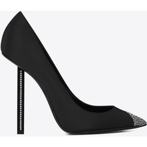 daba6446586a01 Saint Laurent Tower 110 Pumps (1 405 CHF) ❤ liked on Polyvore featuring  shoes