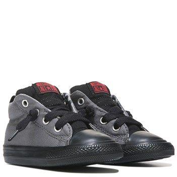 Converse Chuck Taylor All Star Street Cab Mid Top Sneaker Grey/Camo - Boys Shoes