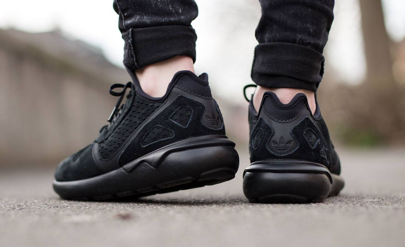 A Monochromatic Cheap Adidas Originals Tubular Runner