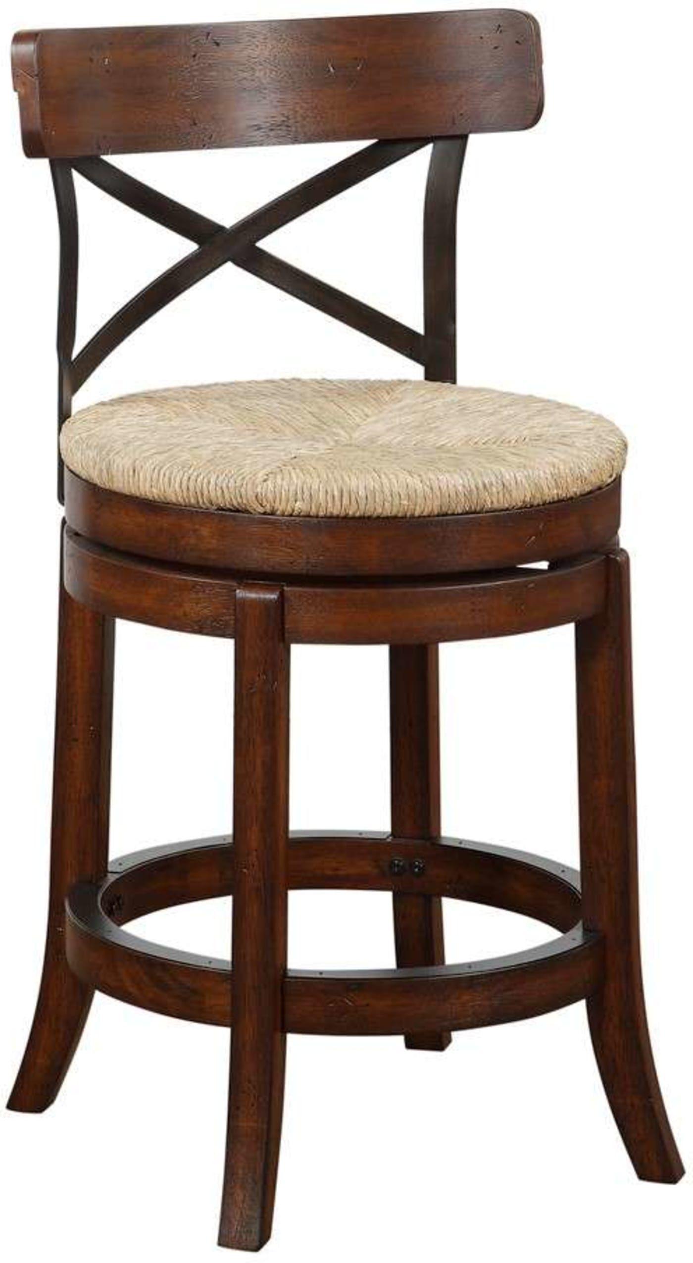 Boraam myrtle mahogony 24 swivel counter stool reviews