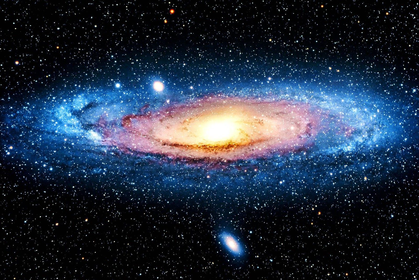 ScreenHeaven: Andromeda Galaxy galaxies outer space desktop and ...