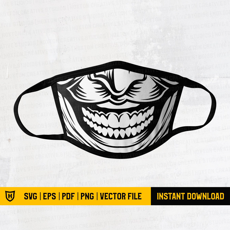Joker Face Mask Svg Joker Mask Svg Smiley Mask Svg Funny Etsy Joker Mask Joker Face How To Make Tshirts
