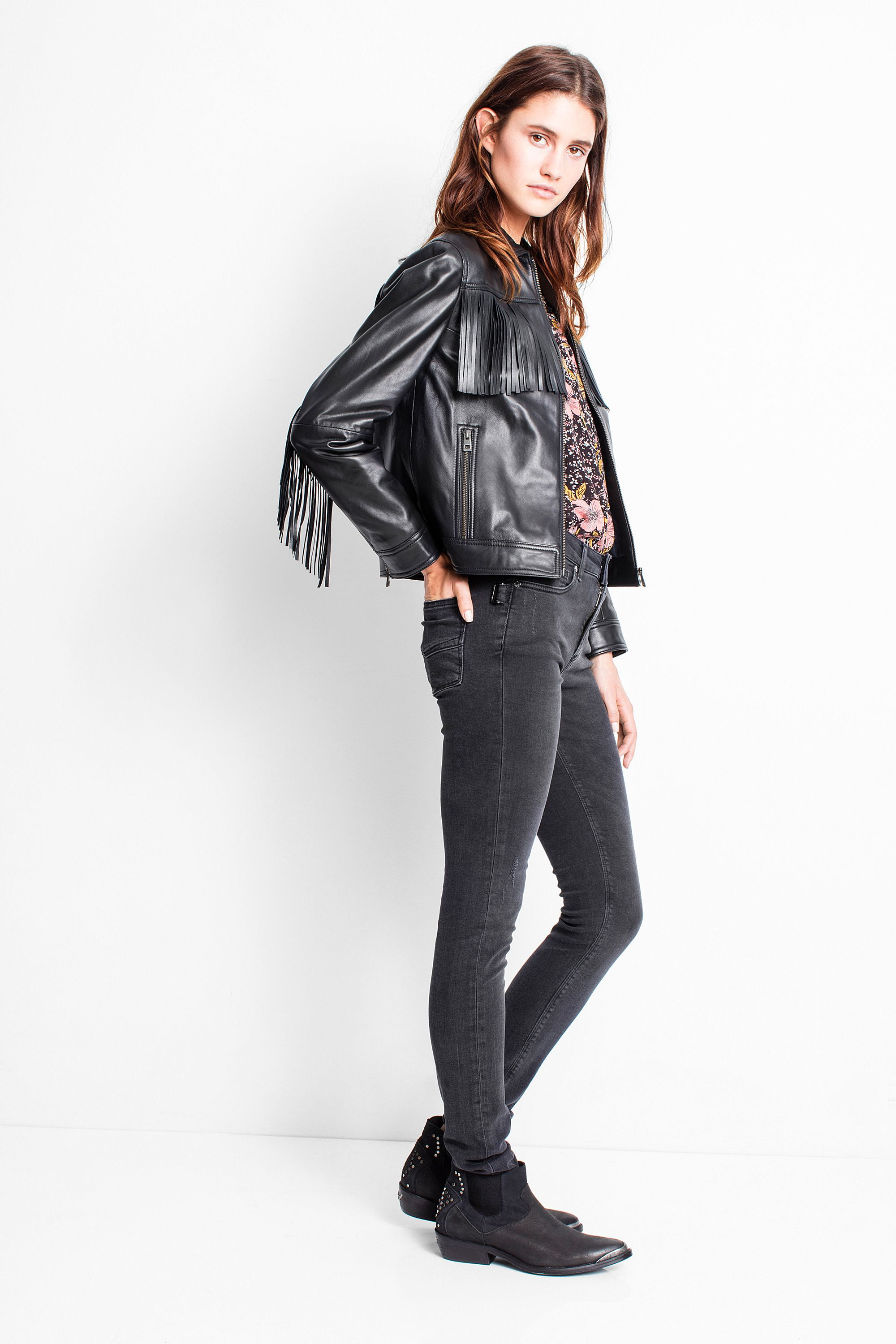 Pin by Siobhán Norton on Fashion Jackets, Fringe leather