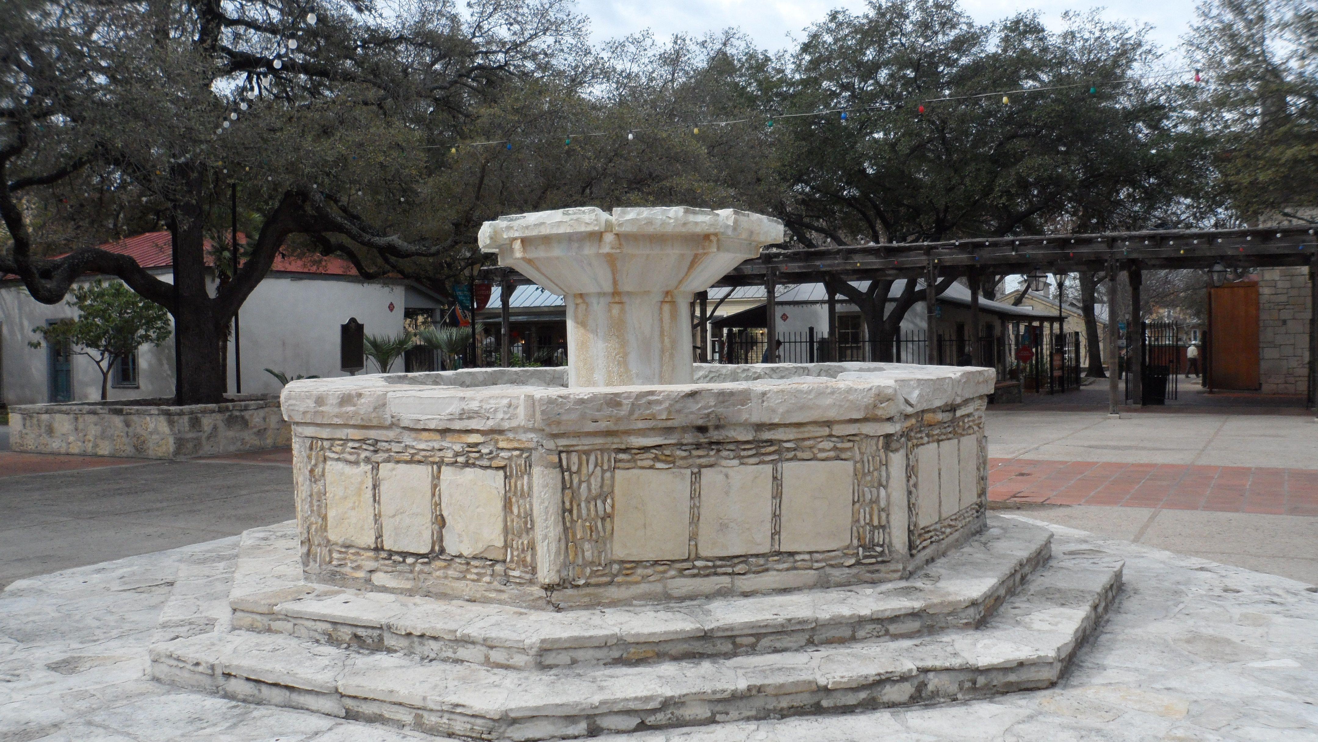 Center square of La Villita in San Antonio 9 year