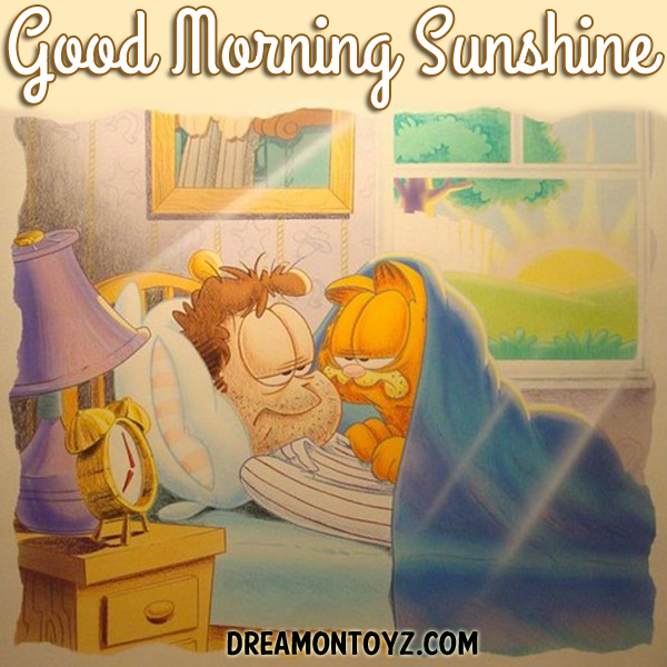 Garfield Good Morning Greeting Good Morning Greetings Good Morning Picture Morning Greeting