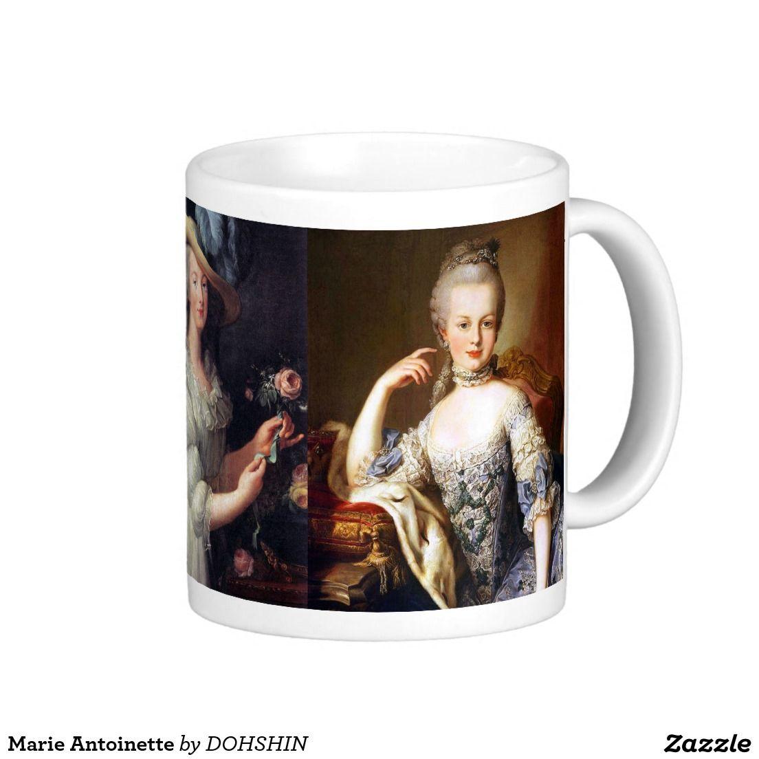 Marie Antoinette ベーシックホワイトマグカップ