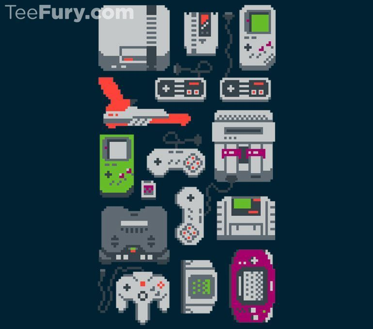 """A Pixel of My Childhood"" by Melee_Ninja is available now.  Get it here: http://www.teefury.com/a-pixel-of-my-childhood/?utm_source=pinterest&utm_medium=referral&utm_content=apixelofmychildhood&utm_campaign=gamingcollection?&c3ch=Social&c3nid=Pinterest"