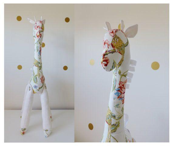 Mr / Mrs Long Neck Giraffe Plush Toy Sewing Pattern by BuckandBaa ...