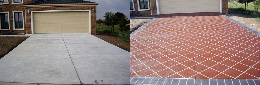 Decorate Your Home With Concrete Resurfacing Driveway Spray Paving And Spraying At A Fraction Of Cost What New Would